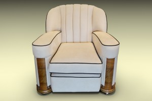Art Deco Contemporary Armchair