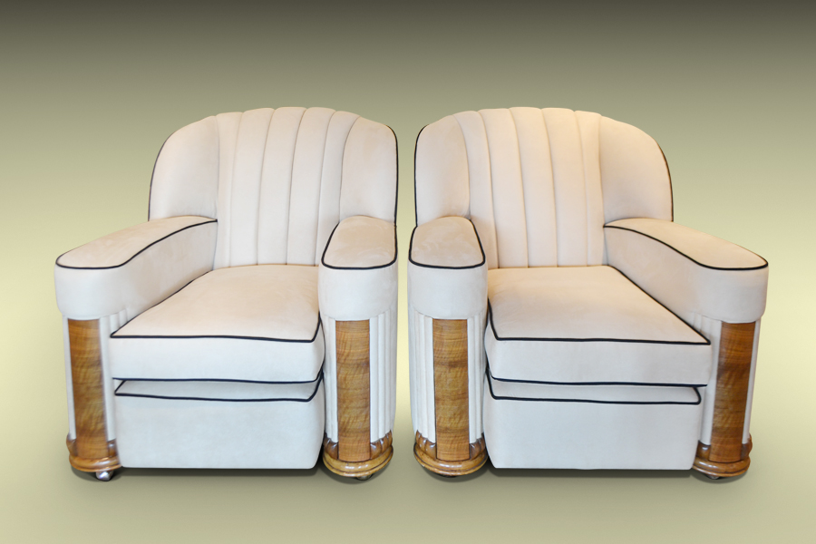 Art Deco Contemporary Armchair & Art Deco Contemporary Armchairs available from The Design Gallery ...